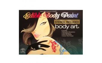Body Art Edible Body Paint