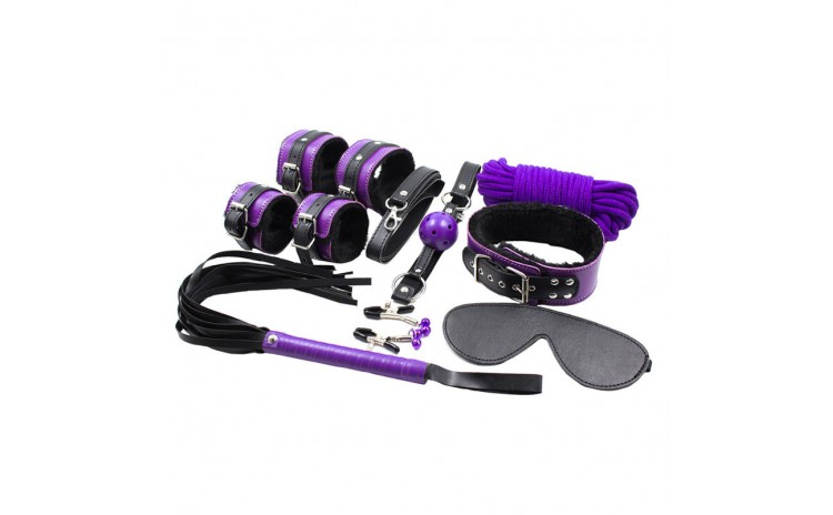 Bedroom Bondage Advanced Kit Purple