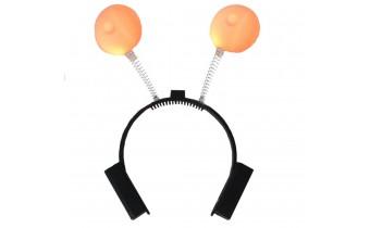 LED Novelty Bachelor Breast Theme Headband