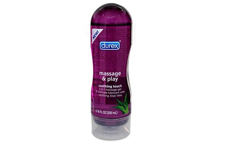Durex 2 in 1 Massage & Play Soothing Touch Massage Gel & Lubricant