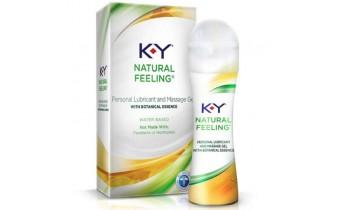 K-Y Natural Feeling with Botanical Essense