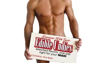 Sensuous Edible Men's Undies Passion Fruit Flavor