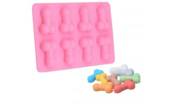 Silicone Penis Tray Mould