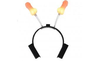 LED Novelty Bachelorette Penis Theme Headband