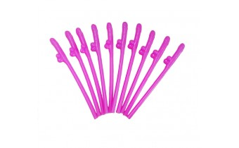 Penis Shaped Straws 10 pc pack